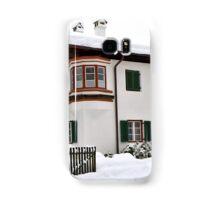 Snowy House, Telfs, Tyrol, Austria Samsung Galaxy Case/Skin