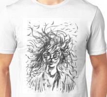 Stray Hair Unisex T-Shirt