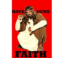 BLACK JESUS Photographic Print