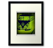 Split Screen VW Combi - New Products Framed Print