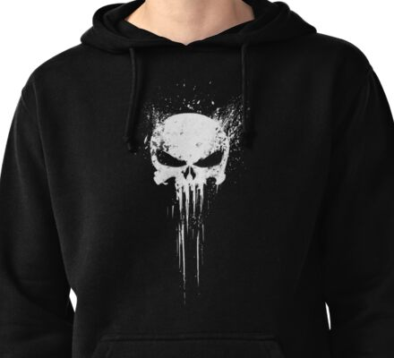 Punisher Pullover Hoodie