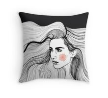 Hairy Throw Pillow