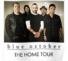 BLUE OCTOBER Poster