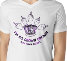 I'm so crown, crown Mens V-Neck T-Shirt