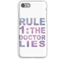 Rule 1 iPhone Case/Skin