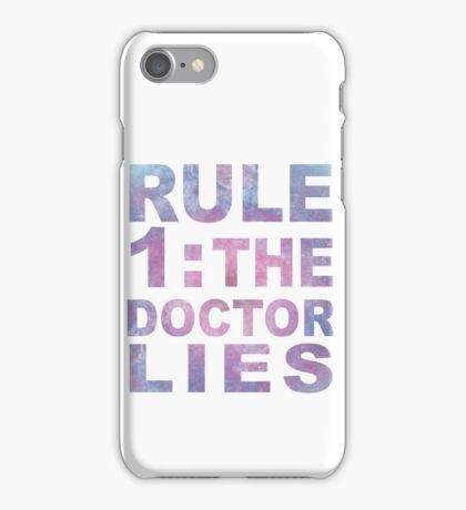 Rule 1 iPhone Case/Skin