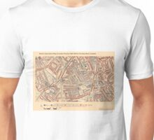 Booth's Map of London Poverty for Ferndale ward, Lambeth Unisex T-Shirt