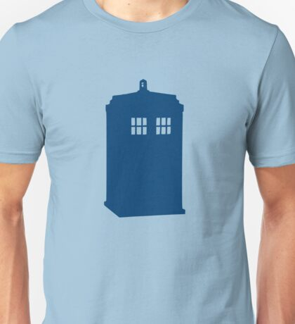 Just A Madman With a Box ver.Tardis Unisex T-Shirt