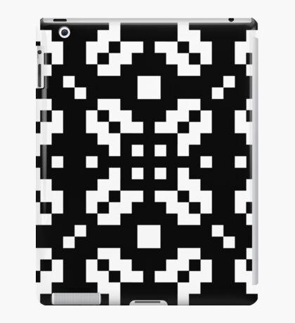 Winter Knit in Coal iPad Case/Skin