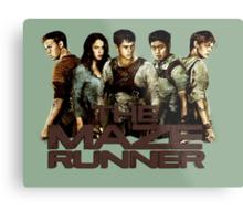 The Maze Runner Metal Print