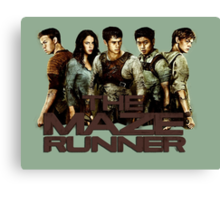 The Maze Runner Canvas Print