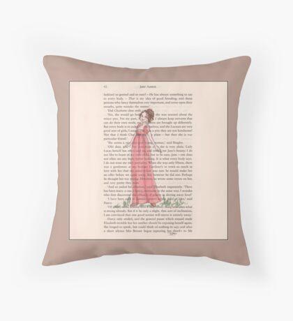 Jane Austen - Lydia Bennet Throw Pillow