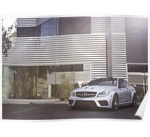 C63 Black Series Posted in the Shade! Poster