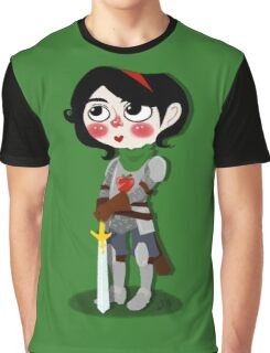 Snow Knight Graphic T-Shirt