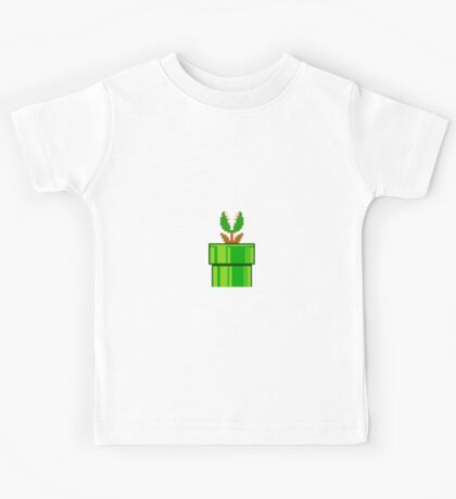 Venus Fly Trap Super Mario Bros Kids Tee