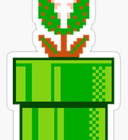 Venus Fly Trap Super Mario Bros Sticker
