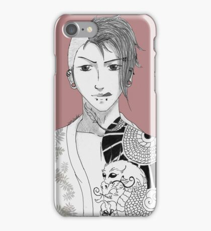 Dragontattoo iPhone Case/Skin
