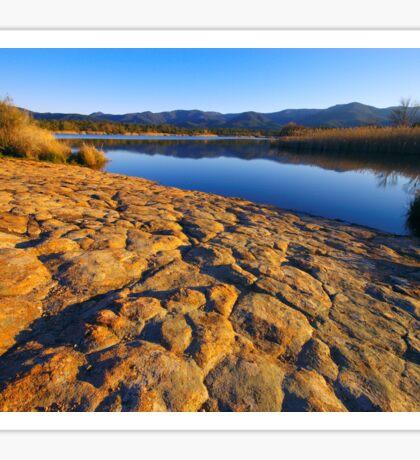 Provence lake Sticker