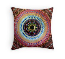 Healing Heart Mandala Throw Pillow