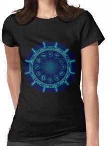 Zodiac Circle Womens Fitted T-Shirt