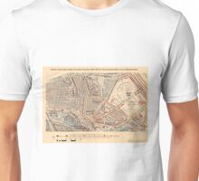 Booth's Map of London Poverty for Harrow Rd ward, Westminster Unisex T-Shirt