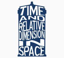 TARDIS Definition T-Shirt