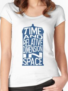 TARDIS Definition Women's Fitted Scoop T-Shirt