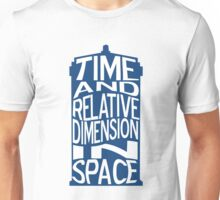 TARDIS Definition Unisex T-Shirt