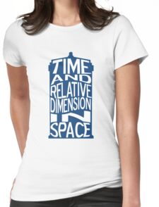 TARDIS Definition Womens Fitted T-Shirt