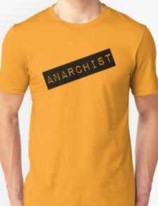 Anarchist Label T-Shirt