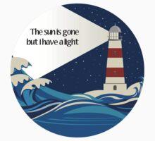 The lighthouse art Kids Tee