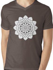 Mandala Number 3 Mens V-Neck T-Shirt
