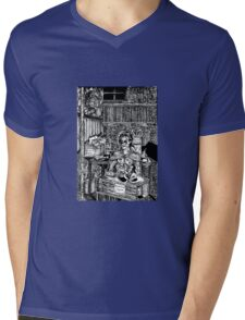 Frankenstein's Monster Mens V-Neck T-Shirt