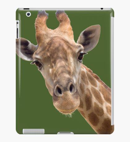 Funny giraffe iPad Case/Skin