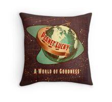 PlanetLucky Throw Pillow