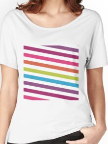 RAINBOW Women's Relaxed Fit T-Shirt