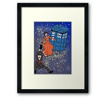 Stepping in Time Framed Print