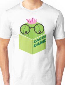 caring for cacti Unisex T-Shirt