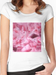 Abstract 138 Women's Fitted Scoop T-Shirt