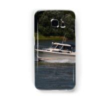 Small Cabin Cruiser Samsung Galaxy Case/Skin