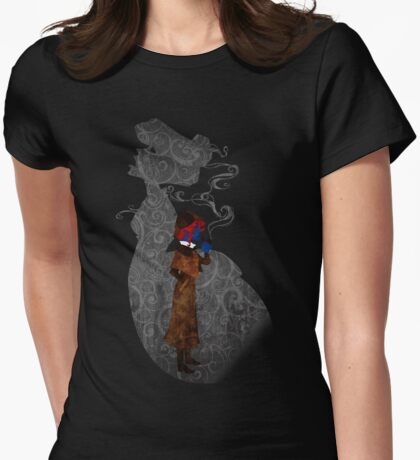 Consulting Detective Darkholme Womens Fitted T-Shirt