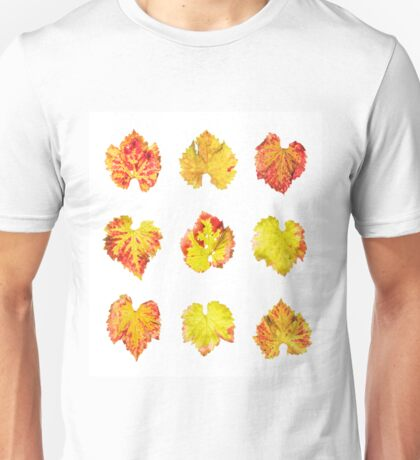 Grape leafs Unisex T-Shirt