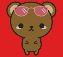 Cute bear on holiday One Piece - Short Sleeve