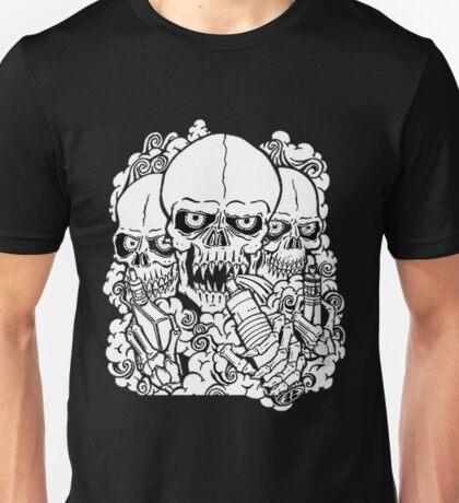 VAPING SKULL Unisex T-Shirt