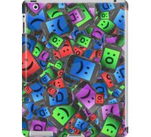 Emoticon fun. iPad Case/Skin