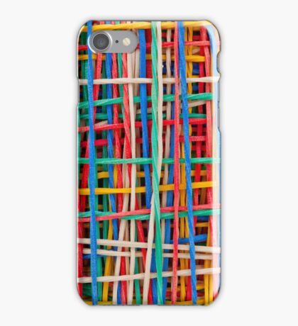 Just strings attached iPhone Case/Skin