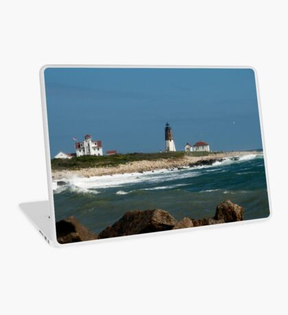 Old New England Lighthouse Laptop Skin