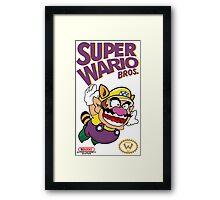 Super Wario Bros Framed Print