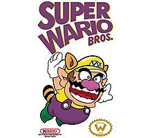 Super Wario Bros Photographic Print