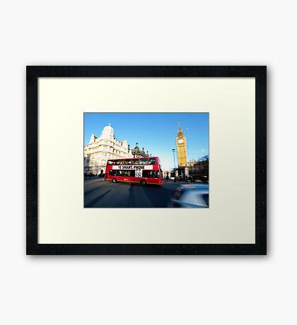 London Smart Framed Print